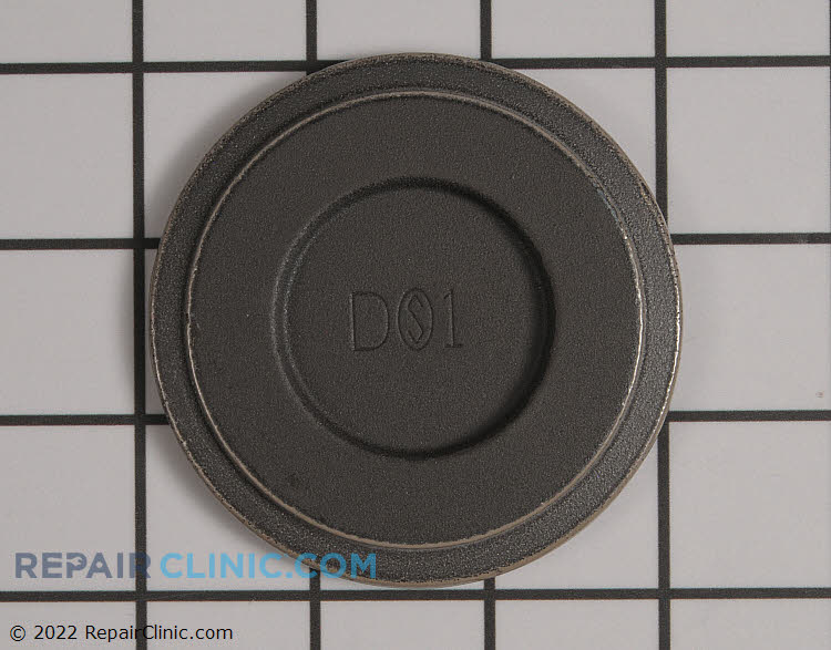 Surface Burner Cap WP74007751 Alternate Product View