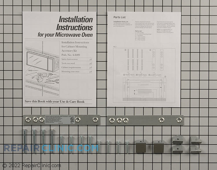 Installation Kit WX4-A019        Alternate Product View