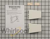 Shelf Retainer Bar Support - Part # 586835 Mfg Part # 4388286
