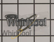 Nameplate - Part # 4446214 Mfg Part # WPW10393264