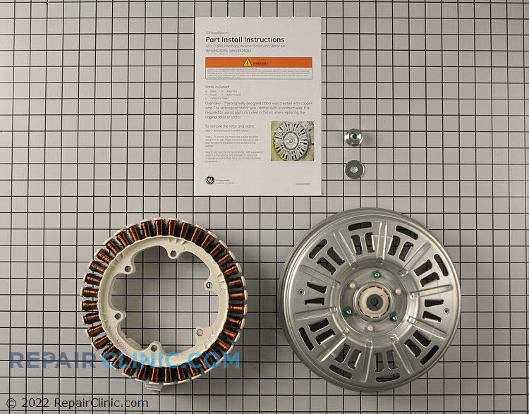 Motor WH49X25041 Alternate Product View