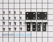 Hardware Kit - Part # 4434388 Mfg Part # WP4344818