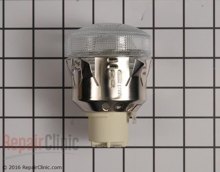 Oven light socket assembly