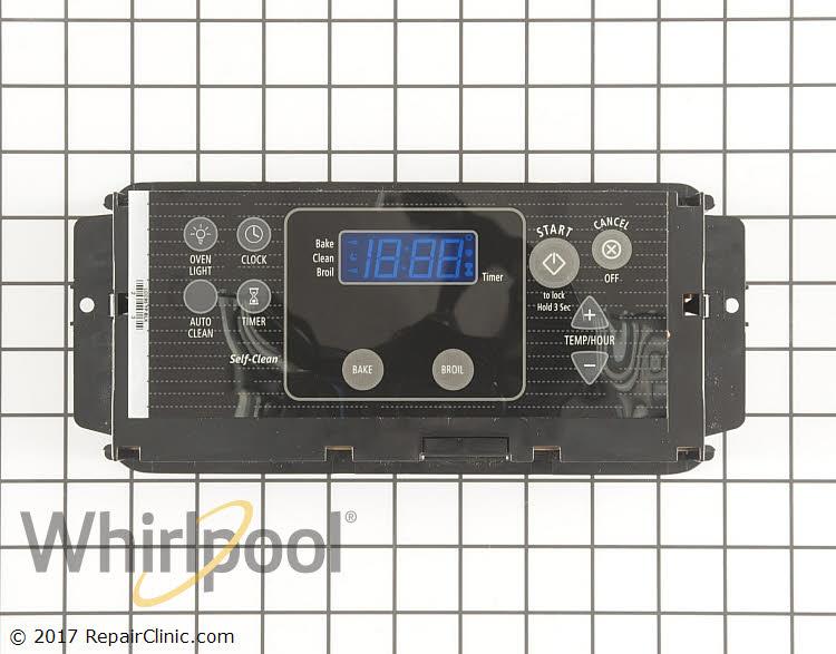Oven control board, black