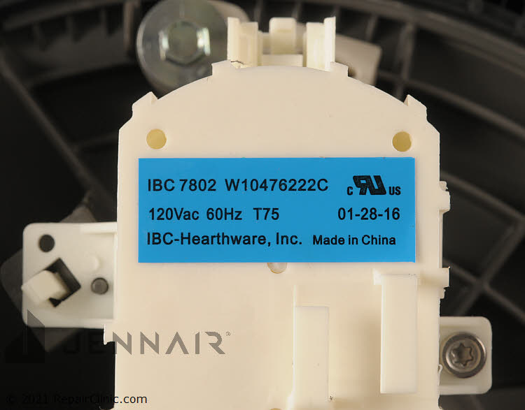 Pump and Motor Assembly WPW10605057 Alternate Product View