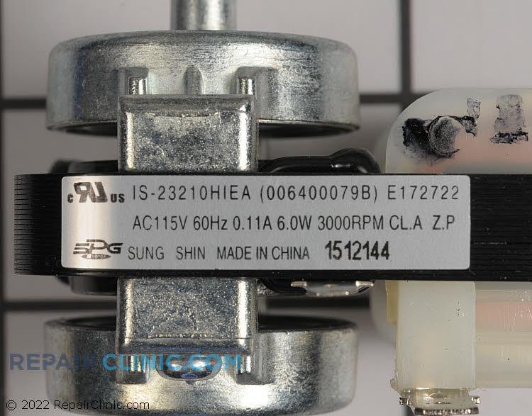 Evaporator Fan Motor WR60X29806 Alternate Product View