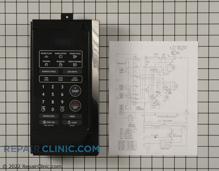 Control Panel PKCPSWF250B     Alternate Product View