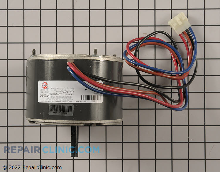 Condenser fan motor 1069892 for Ac condenser fan motor replacement