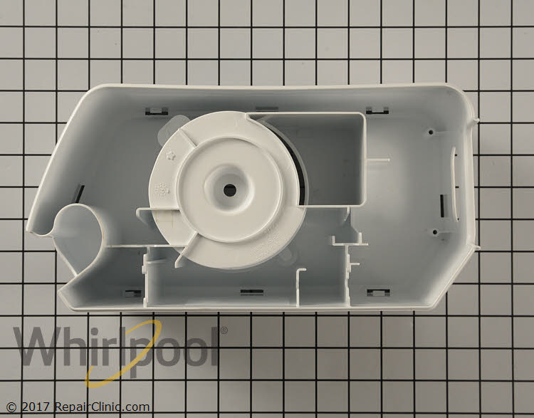 Ice Crusher Housing WPW10134774 Alternate Product View