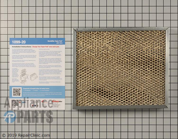 Water Evaporator Pad 1099-20 Alternate Product View