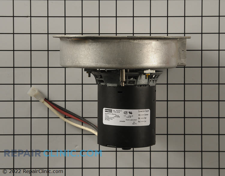 Draft Inducer Motor 11177202 Alternate Product View