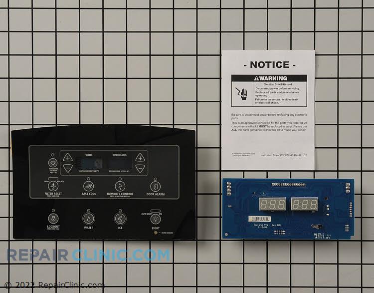 Dispenser Control Board W10860143 Alternate Product View