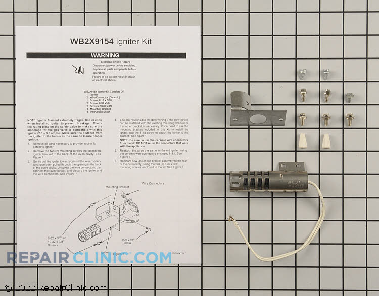 Igniter WB2X9154 Alternate Product View