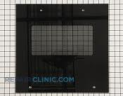 Glass, black - Part # 1935348 Mfg Part # 1805H077