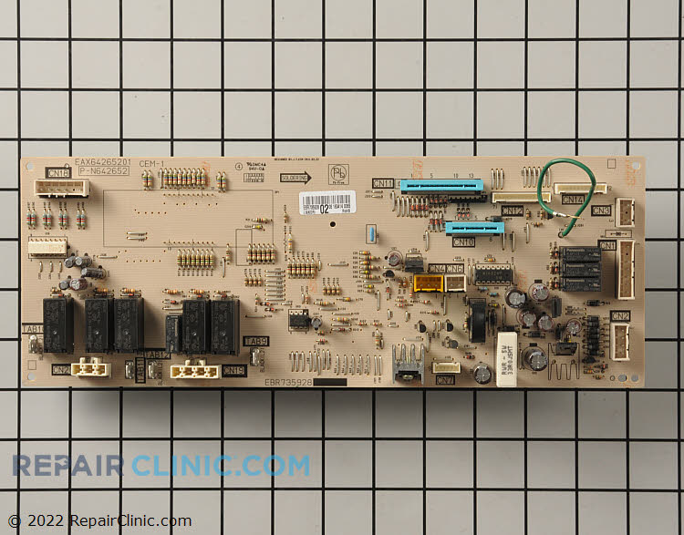 Main Control Board EBR73592803 Alternate Product View