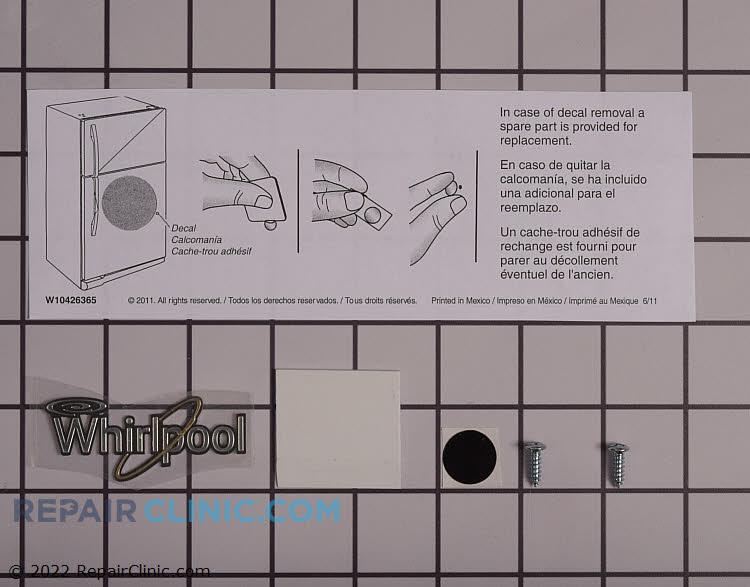 Door Reversal Kit W10437913 Alternate Product View