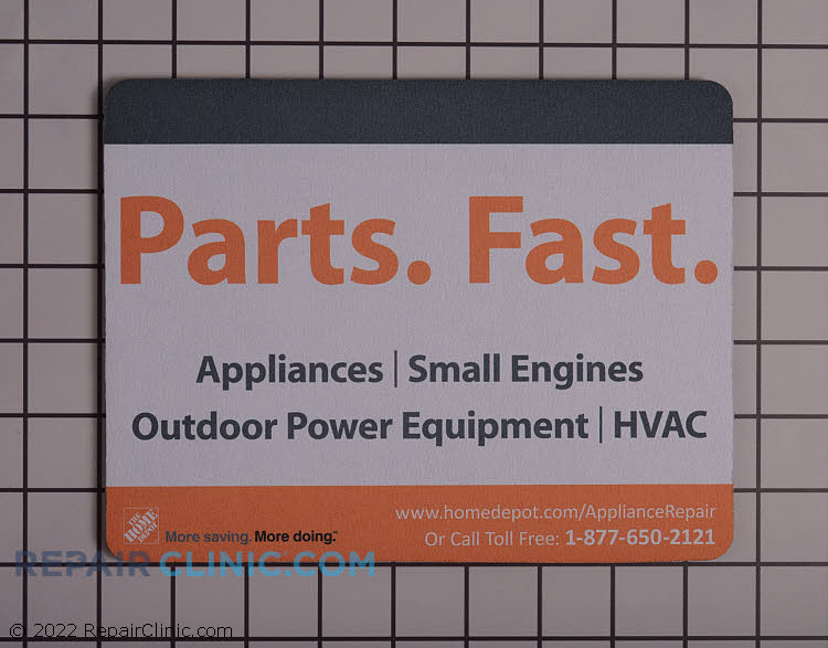 Home Depot Promotional Material Hdmousepad Fast Shipping Repair Clinic