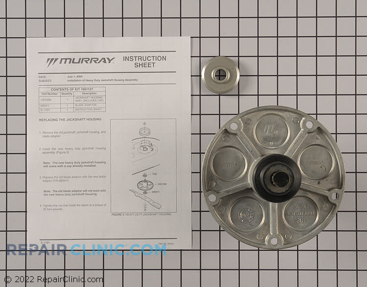 Spindle Housing 7601127MA       Alternate Product View