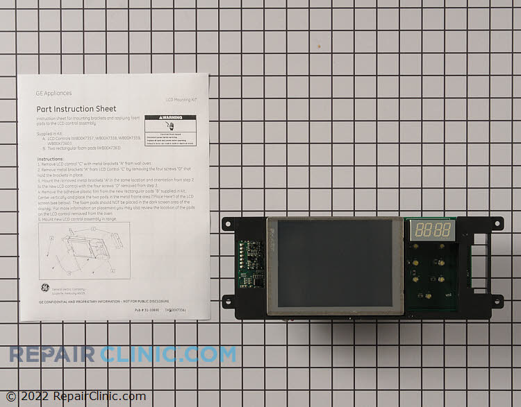 Control Board WB27T11496 Alternate Product View