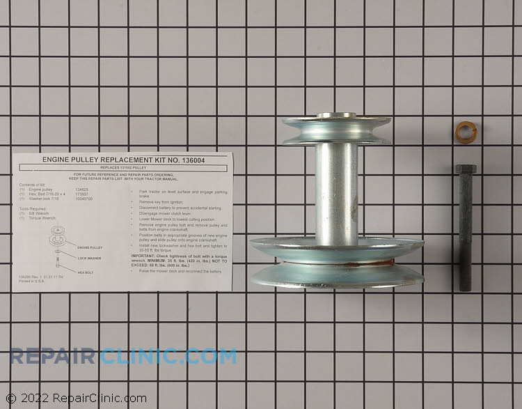 Pulley 532136004 Alternate Product View