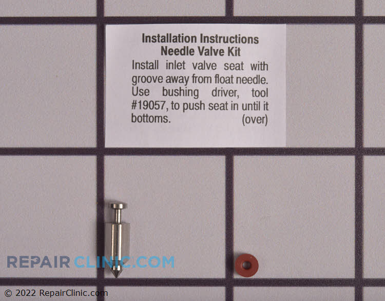 Carburetor needle & seat kit. Comes with installation instructions. The float needle allows fuel to enter the float bowl. If the float needle is stuck closed, the engine will not get fuel and thus will not start.