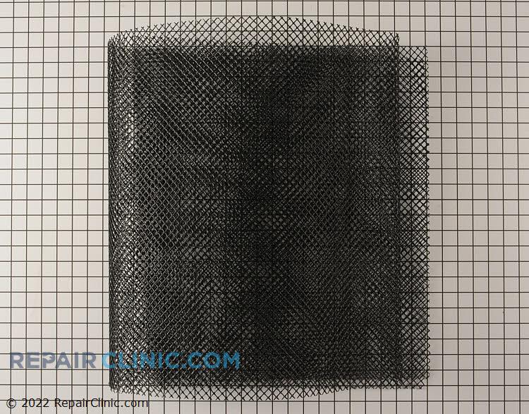Guard,coil mesh,22x84.5,black plastic
