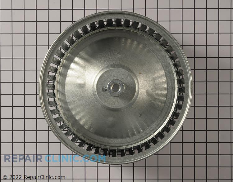 Wheel; fan, steel, 10.62 dia x 6 width, 1/2 in bore