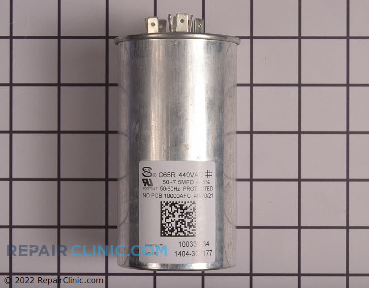 Dual Run Capacitor 13W87 Alternate Product View