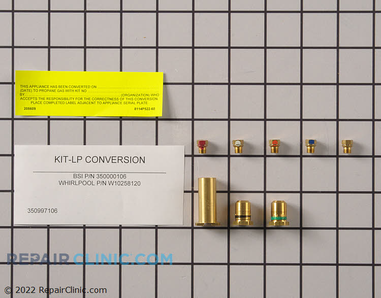 Conversion Kit W10258120 Alternate Product View
