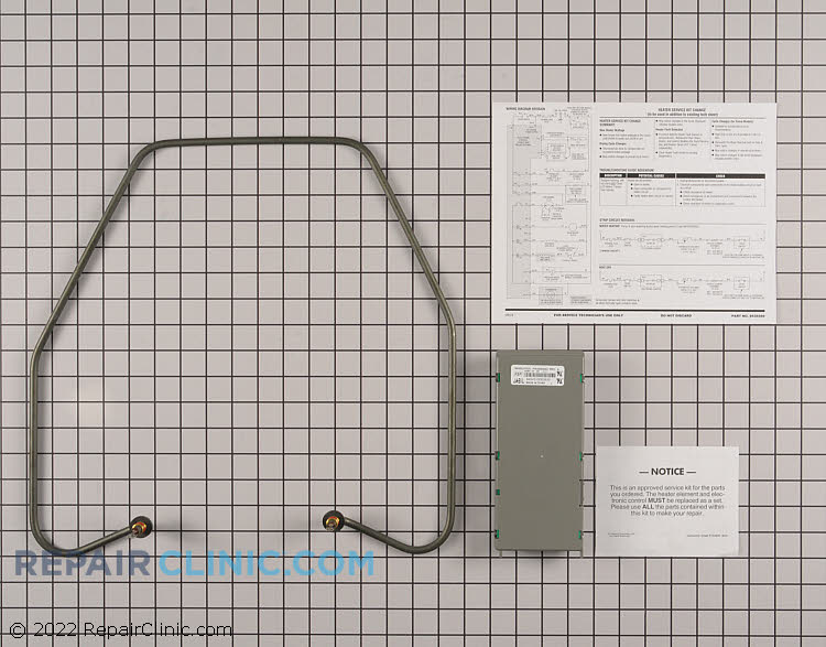 Heating Element Assembly 8194200         Alternate Product View