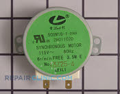Synchronous Motor - Part # 1292603 Mfg Part # 2H01102D