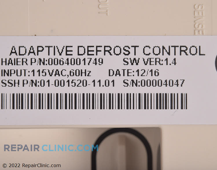 Defrost Control Board 0064001749 Alternate Product View