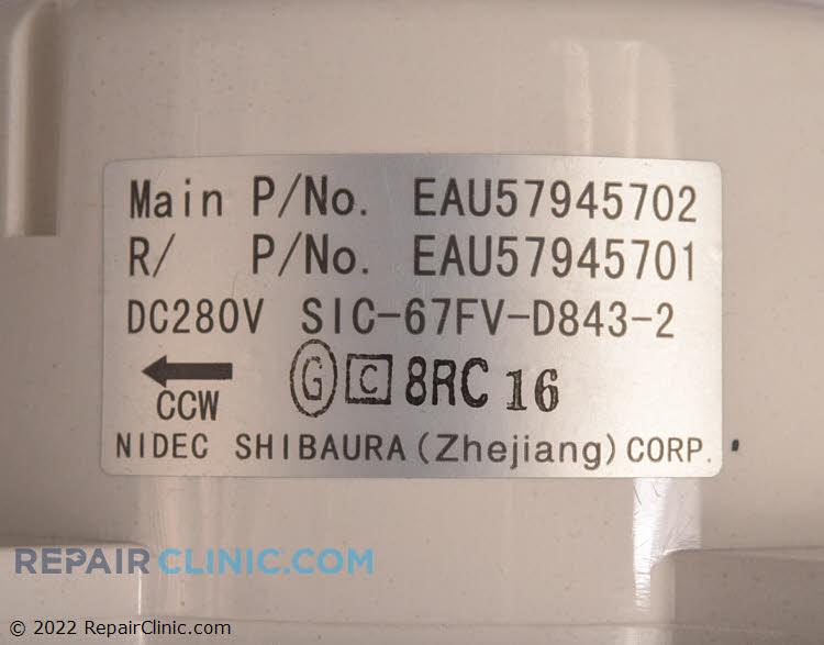Fan Motor EAU57945702 Alternate Product View