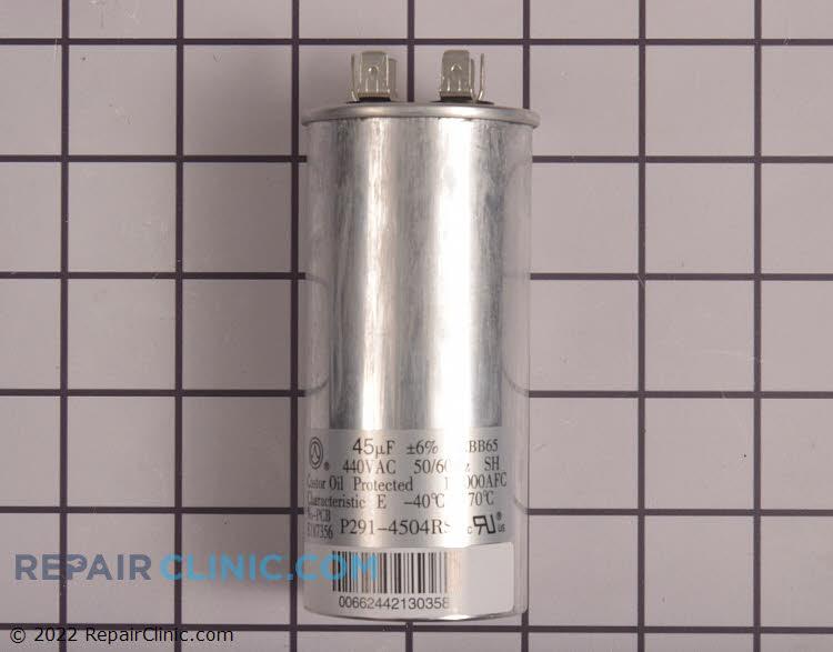 Run capacitor, round 440 VAV 45 uF