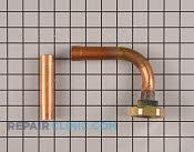 Kit; stub tube, size 1.75-12, w/ 90 deg ell, for 3/ - Part # 2549662 Mfg Part # KIT01169