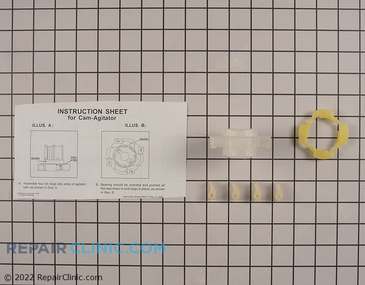 Agitator Repair Kit 285809 Alternate Product View
