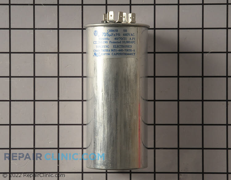 Dual Run Capacitor CAP050700440RTP Alternate Product View