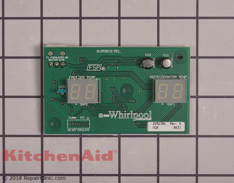 W Control Board Schematic Diagram on