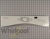 Control Panel - Part # 3450427 Mfg Part # WPW10639903
