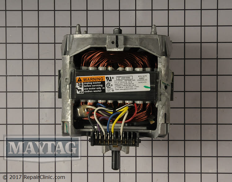 Drive Motor WP661600 Alternate Product View
