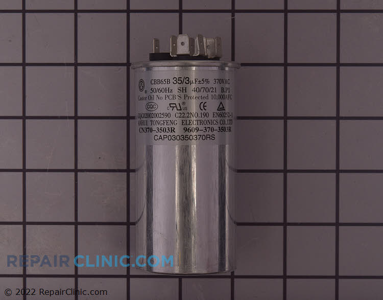 Run Capacitor CAP030350370RSS Alternate Product View