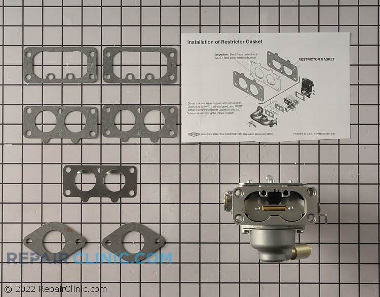 Carburetor 791230          Alternate Product View