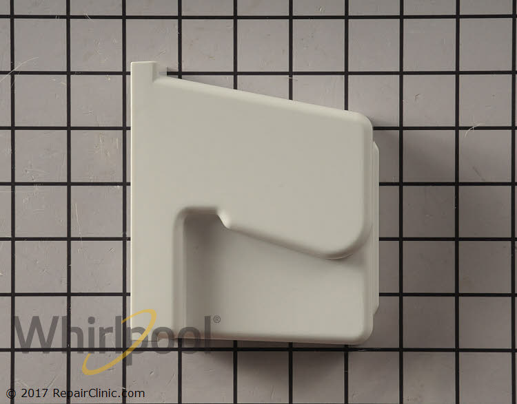 Shelf Retainer Bar Support WPW10323172 Alternate Product View