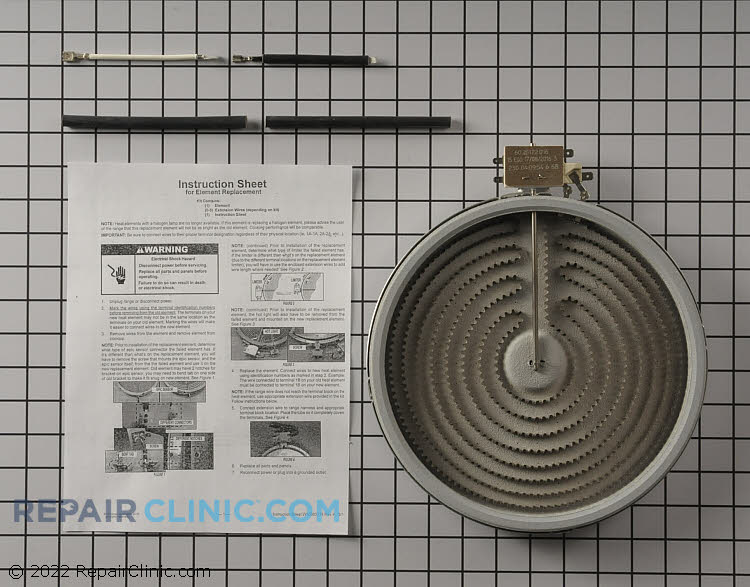 Coil Surface Element W10823696 Alternate Product View