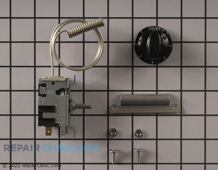 Refrigerator thermostat control kit