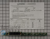 LED Board - Part # 4466683 Mfg Part # WD21X21922