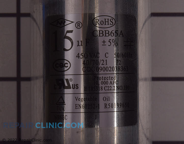Run Capacitor CPT02435 Alternate Product View