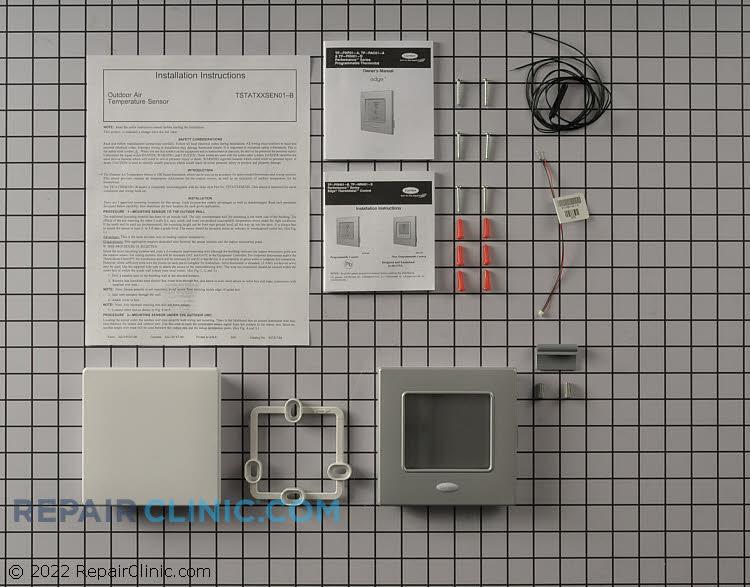 Bryant/carrier dual fuel t-stat kit