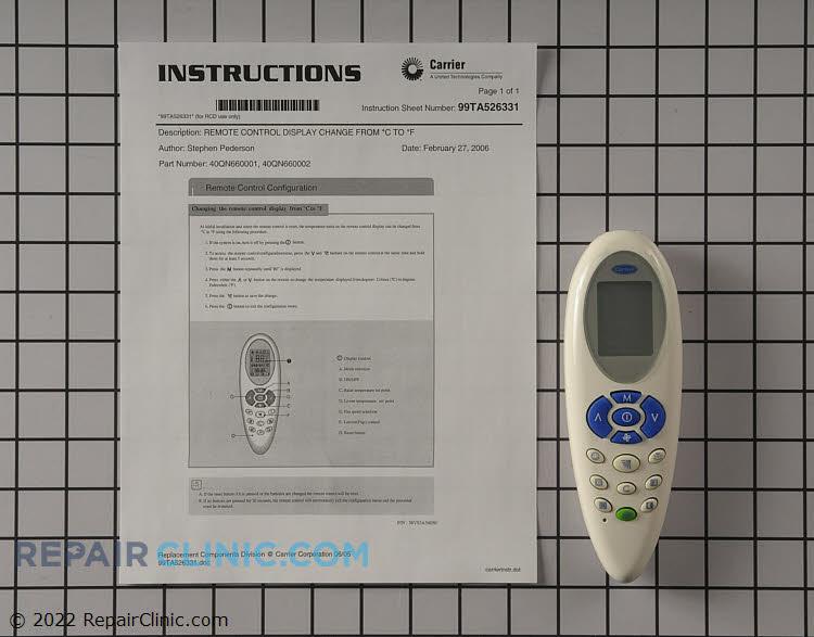 Remote Control 40qn660002 Fast Shipping Repairclinic Com