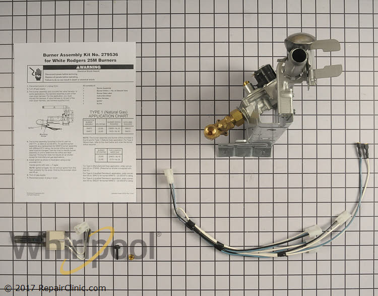 Gas Valve Assembly 279536          Alternate Product View